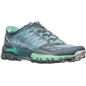 La Sportiva W's Bushido Shoes Slate/Jade Green